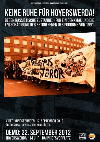 Demo hoyerswerda 09/2012