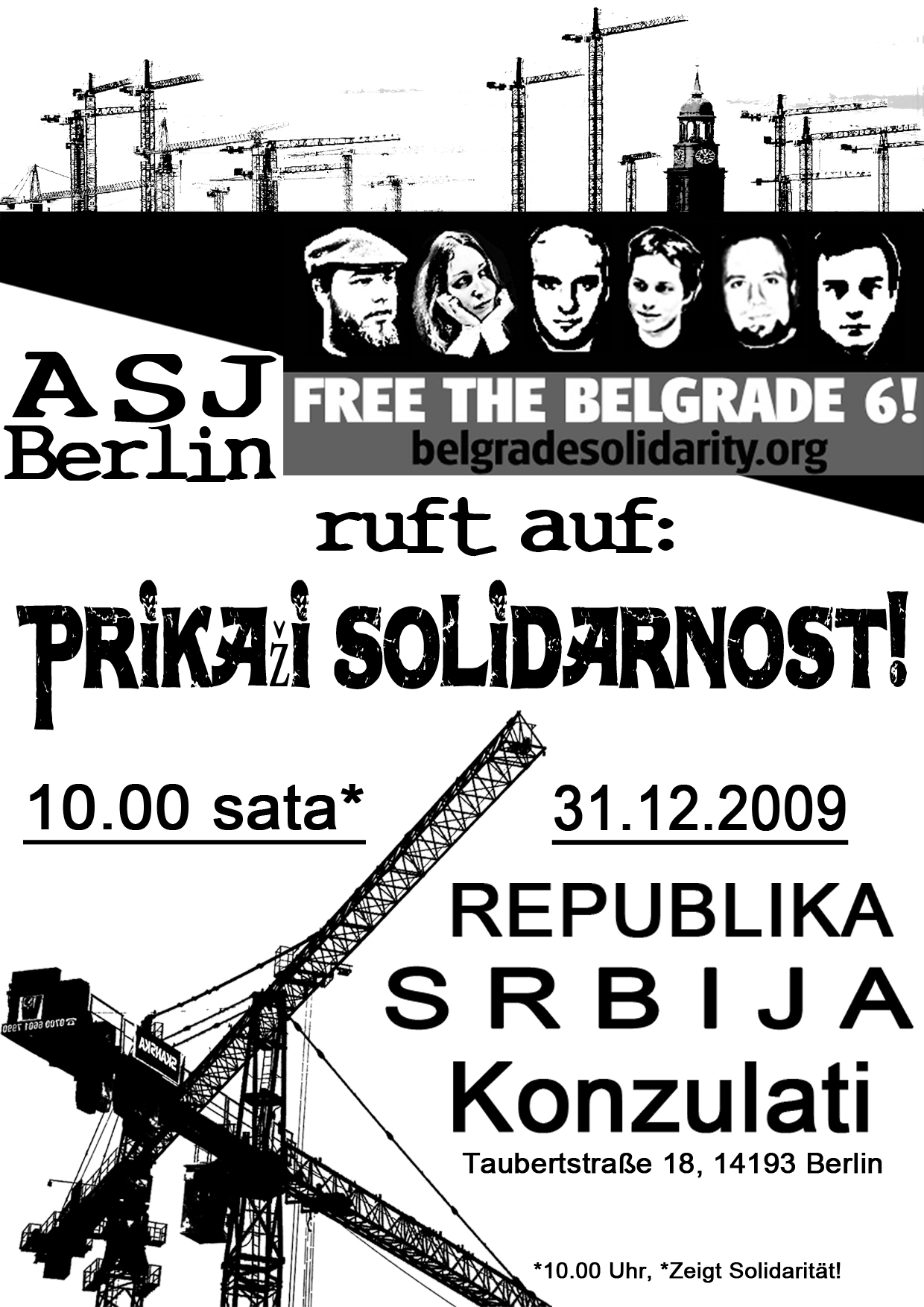 Kundgebung 31.12.2009